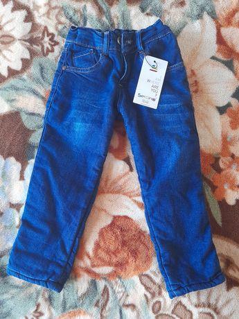 Нові зимові джинси