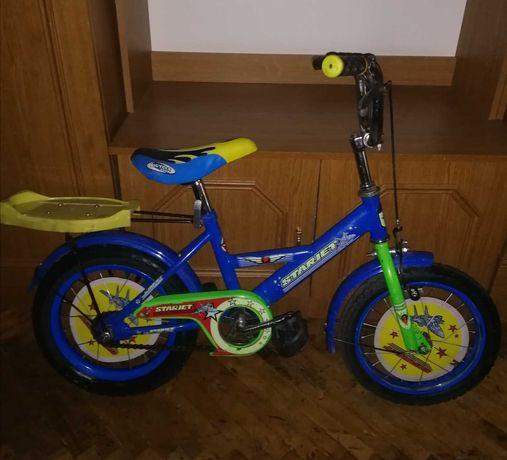 Детский велосипед 14 дюймов 3-5(6) лет