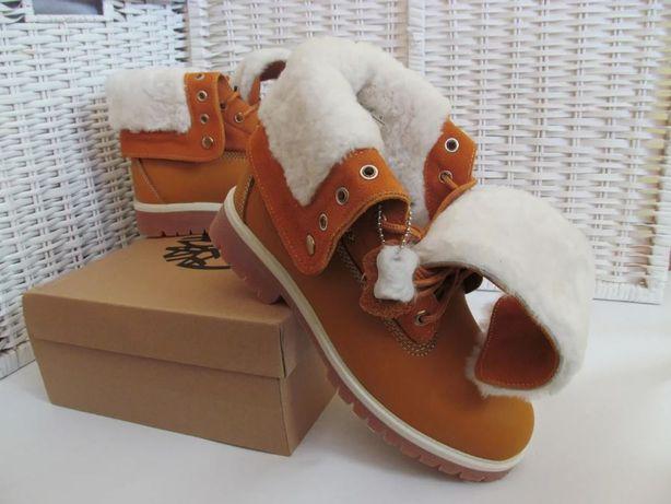 Ботинки Зимние Timberland Original с мехом, унисекс Caterpillar winter