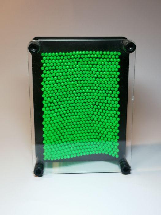 Mała tablica szpilkowa - Pin art - zielona Olsztyn - image 1
