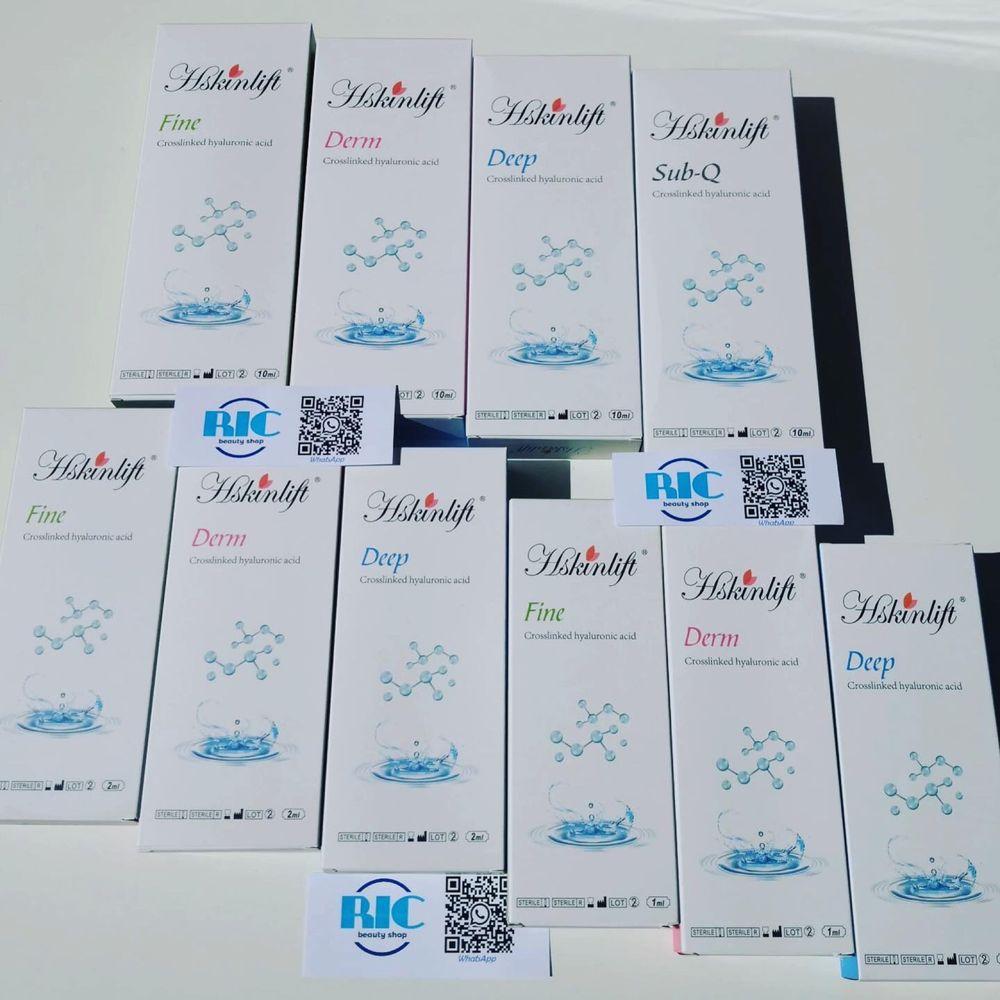 Ácido Hialurónico reticulado c/Lidocaína 1ml/2ml/10ml