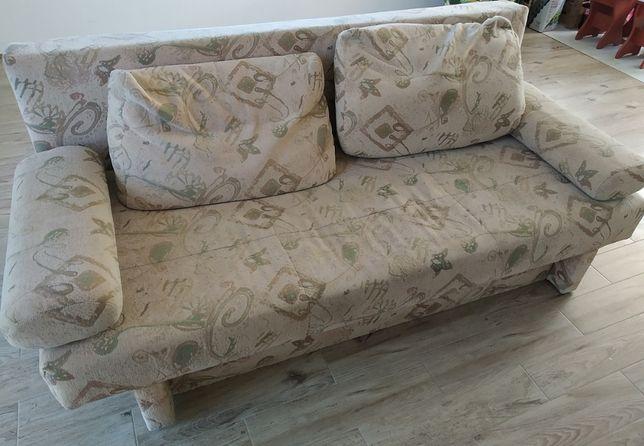 Tapczan kanapa ze schowkiem na pościel powierzchnia spania 195/160
