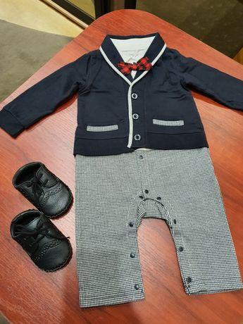 Нарядный костюм бодик ромпер