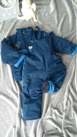 Kurtka i spodnie, komplet zimowy na śnieg r. 98