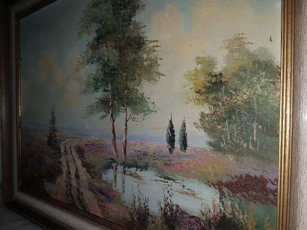Авторська картина на полотні рама дерево