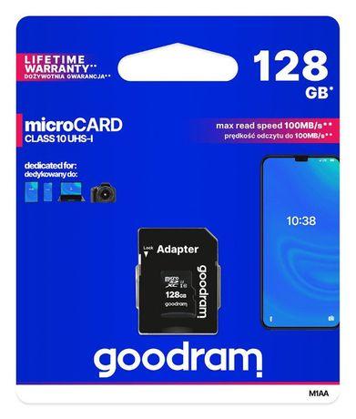 Karta SD microSDXC GOODRAM 128GB Łódź sklep Black Jack