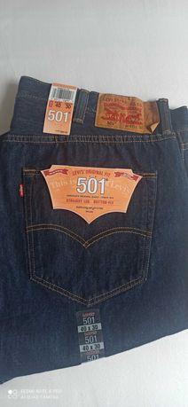 Spodnie meskie levi's 501 W40 L30 nowe