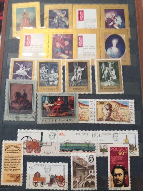 Zestawy znaczków PRL