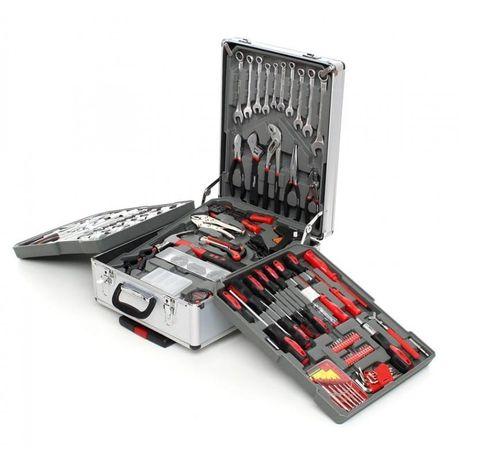 Zestaw kluczy 188el. aluminiowa walizka na kołach