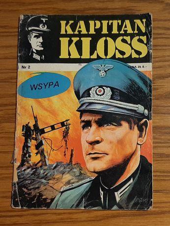 """Komiks Kapitan Kloss """" Wsypa"""" nr 2 wyd. I z 1971 roku"""