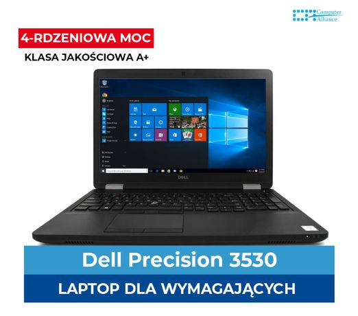Dell Precision 3530 i5-8440H | 8GB DDR4 | 256 GB SSD | Quadro P600 4GB