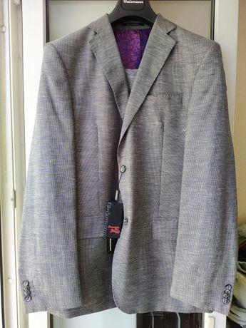 Льняной мужской костюм Vaismann