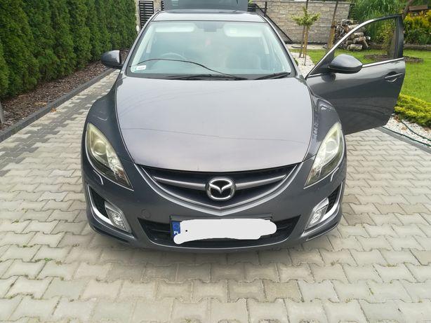 Mazda 6 pokrywa silnika maska przednia