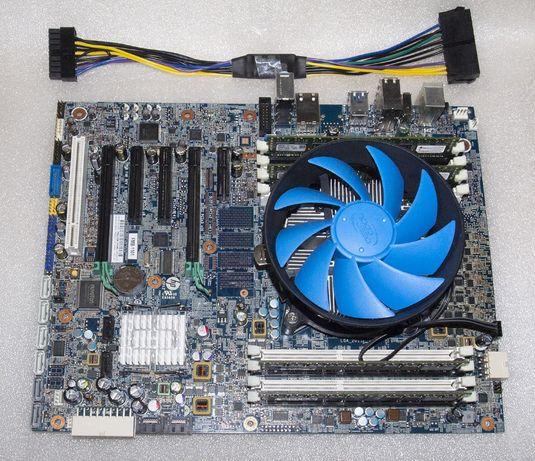 HP Z420 LGA 2011 X97 + Intel Xeon E5-4650 v2 10 ядер 3Ghz + 32Gb DDR3