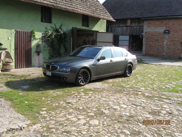 BMW 750Li 2006r.4,8. 370KM zamiana
