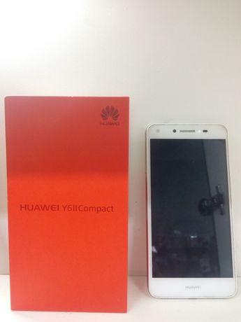 смартфон, сенсорный телефон, HUAWEI Y6II Compact 2/16GB White