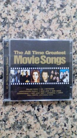 "Vendo CD de musica(duplo) ""The All Time Greatest Movie songs"""