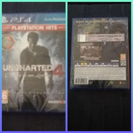 Uncharted 4: O Fim de um Ladrão - Playstation Hits (Em Português) PS4