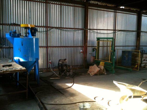 Продаж обладнання для виготовлення піноблоків або газоблоків