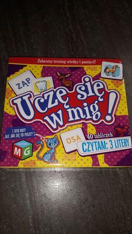 Puzzle edukacyjne Uczę się w mig. 3 litery