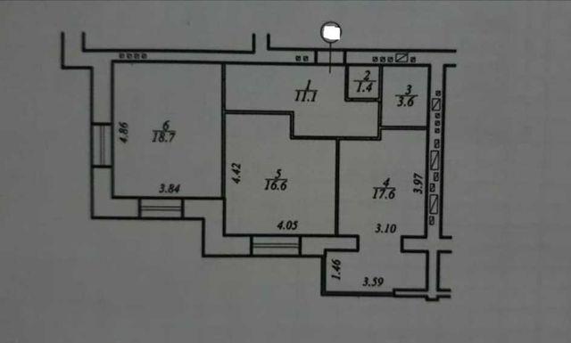 ЖК Счастливый , Продам  2- х комнатную квартиру.