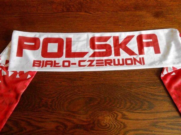 Szalik szaliki Polska Biało-Czerwoni Warka