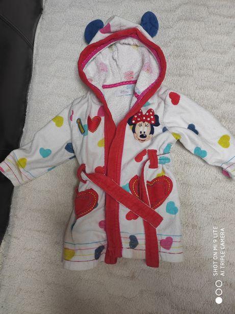 Szlafrok myszka Minnie Disney