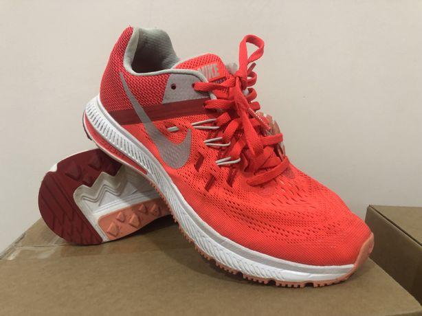 Nike Zoom Winflo 2 Running Crimson/Metallic Platinum 807279 600
