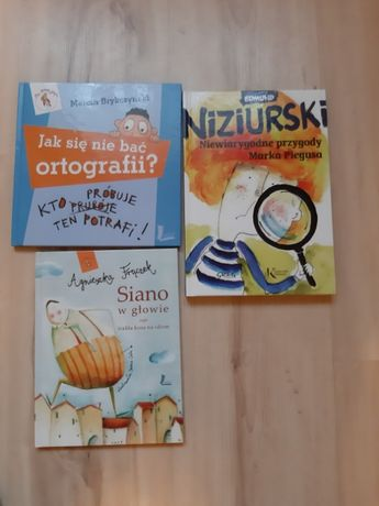 Niziurski, Frączek, Brykczyński - książki dla dzieci