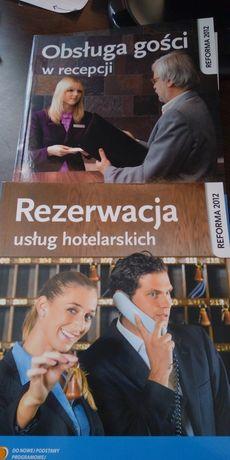 obsługa gości w recepcji oraz rezerwacja usług hotelarskich