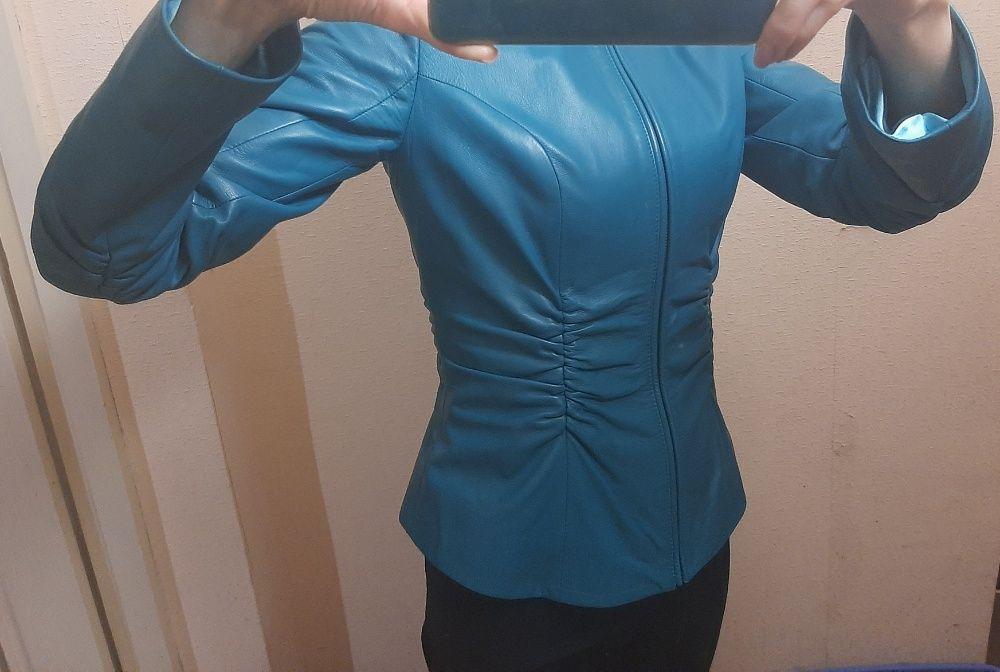 куртка кожаная женская Мелитополь - изображение 1