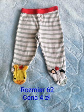 Ubranka chłopięce r. 62