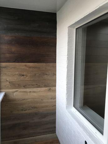 Обшивка балкона/ пластик(утепление).