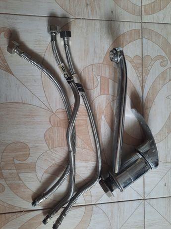 Смеситель для кухни Q-tap и шланги