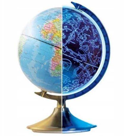 Globus Dzień i Noc Buki Wersja Hiszpańska Globus Podświetlany