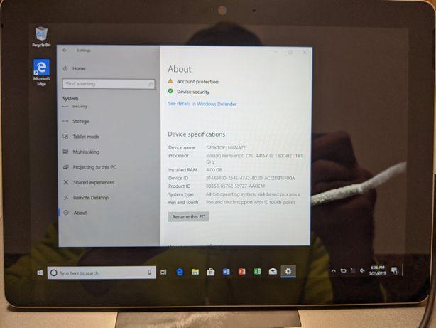 Microsoft Surface Go - Intel Pentium / 4GB / 128GB