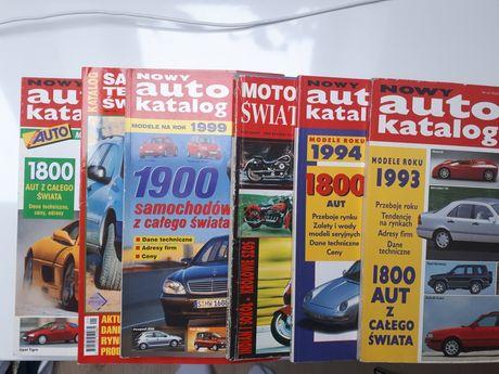 Katalogi Auta 7 szt