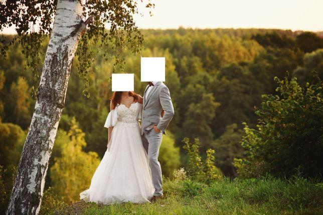 Suknia ślubna Kenzi śmietankowa