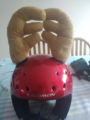 Kask narciarski Salomon dziecięcy