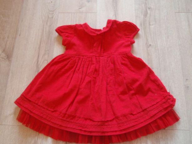 sukienka z tiulem r. 74