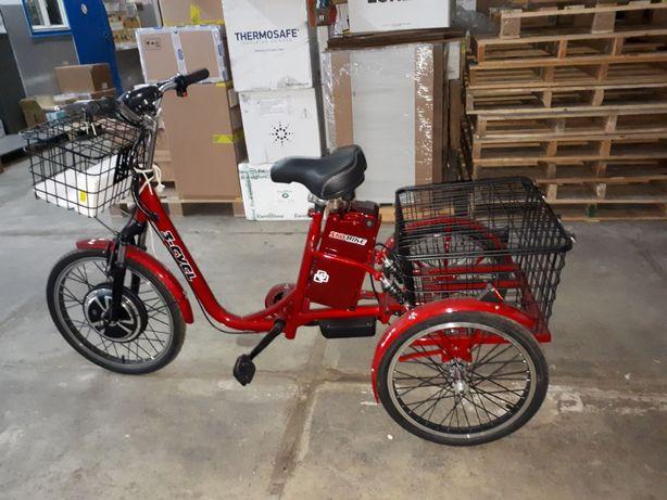 Велосипед электрический, трехколесный