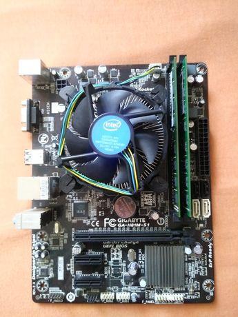 Płyta główna +procesor i ram