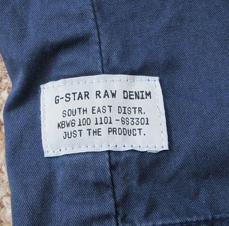 G-STAR RAW Navy Service Blazer пиджак блейзер 48 - S-M оригинал