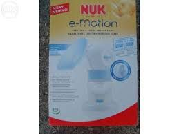 Máquina tira-leite elétrica NUK ( nova - a estrear )