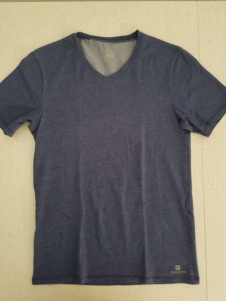 Koszulka z krótkim rękawem męska Domyos Decathlon, rozm. S