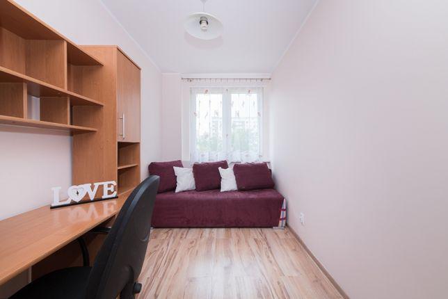pokój do wynajęcia w mieszkaniu trzy pokojowym