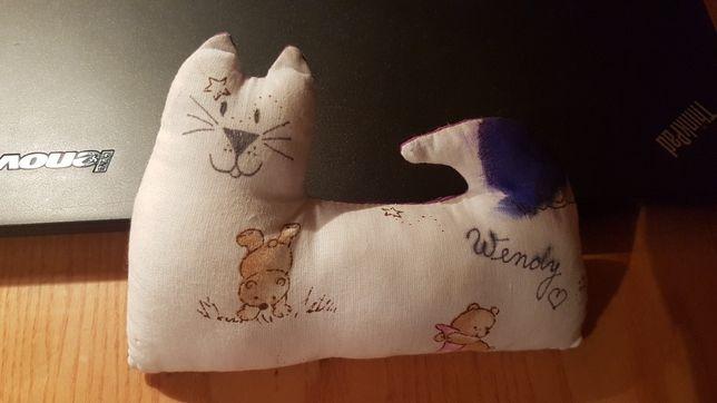 Кот котик интерьерная мягкая игрушка