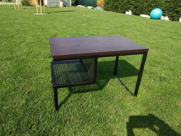 Stolik kawowy, stolik metalowy, styl loftowy, stolik