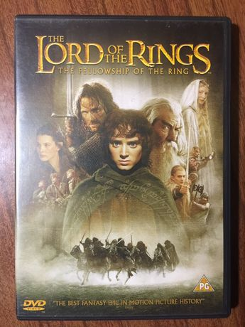 DVD Lord of the Rings - fellowship of the ring - edicao 2 cds