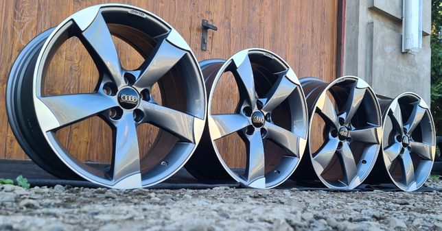 NOWE FELGI do Audi A1/A3/TT Cabrio/TT Quattro 18x5x100